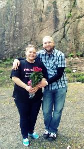 Meg og Maren, forlovet